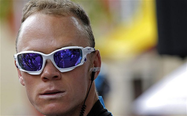 Cristopher Froome (Sky) Photo: Reuters