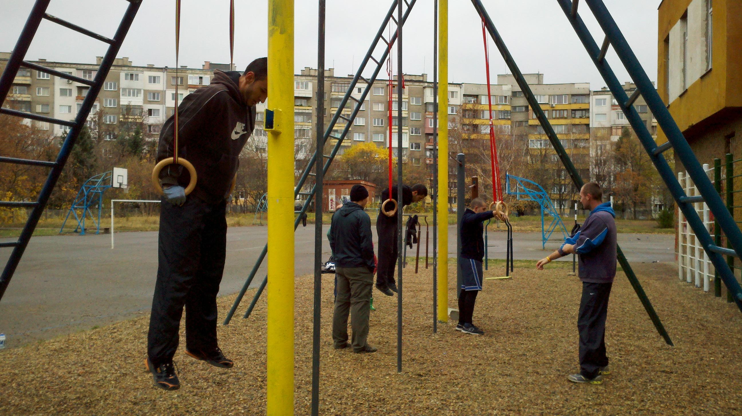 Те вече са там на площадката... Photo: insport.bg