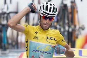 Vincenzo Nibali (Astana) Photo: PETER DEJONG / AP