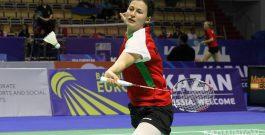 Линда Зечири на осминафинал на Европейското по бадминтон в Дания