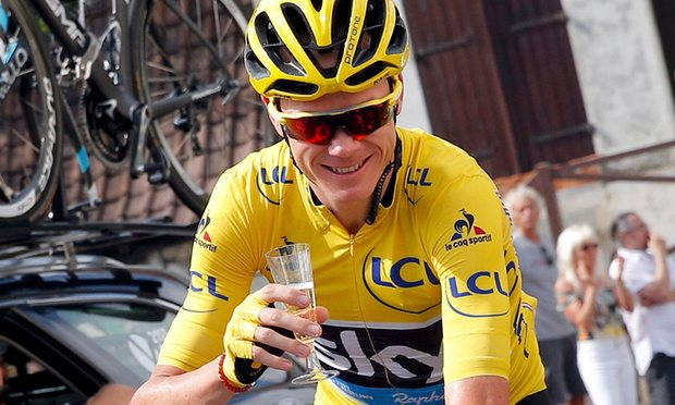 Chris Froome Photo: theguardian