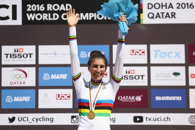 Elisa Balsamo (Italy) Photo: Getty Images
