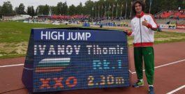 Тихомир Иванов е лекоатлет №1 за годината в България