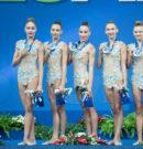 Ансамбълът със злато на обръчи от Гран при в Русия