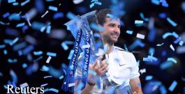 Историческо: Григор Димитров триумфира във финалите на АТР!