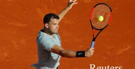 Григор Димитров на полуфинал в Монте Карло