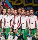 Българските грации с отборен бронз от европейското в Баку