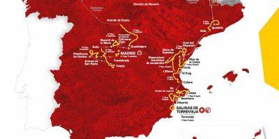 Vuelta a Espana 2019 Routea