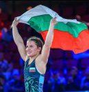 Биляна Дудова е на световния връх в борбата